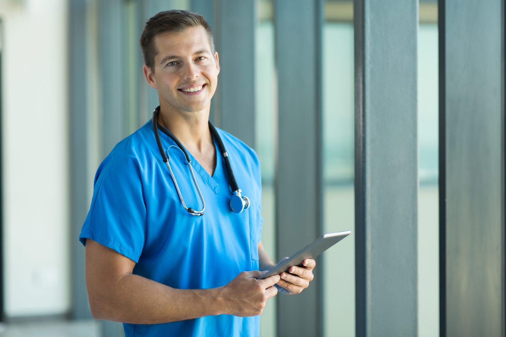 Nursing career for men  – Lourdes Hospital